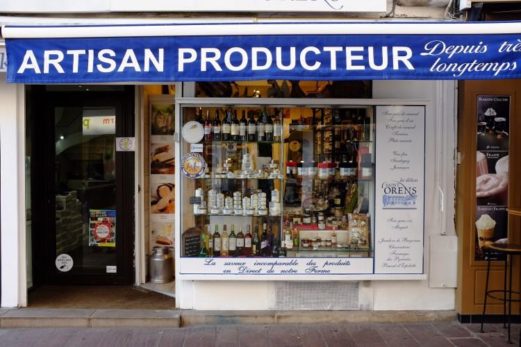Artisan Shop Front