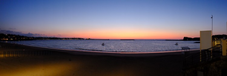 Beach Sunset Panoramic