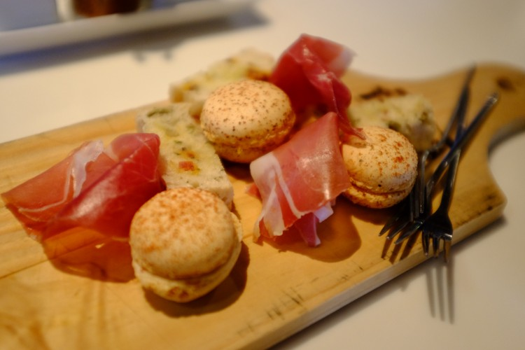 Ham and Macarons