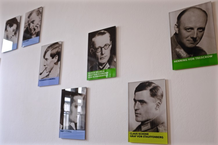 Stauffenberg and fellow Resistance