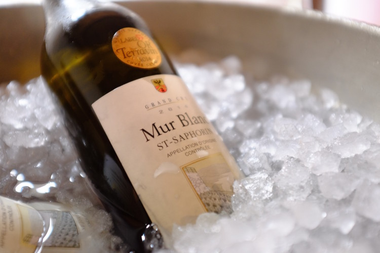 White Wine on Ice