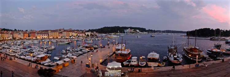 Harbour Panoramic at Dusk