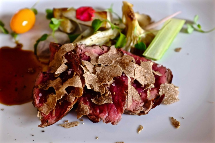 Beef with Truffles