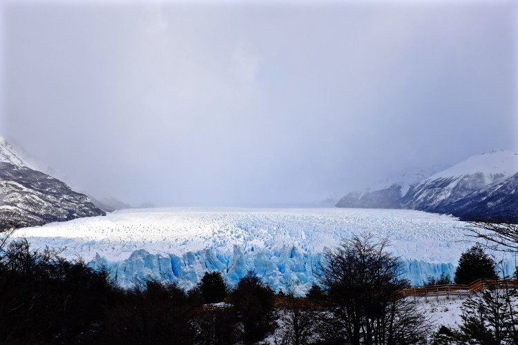 Glacia from afar