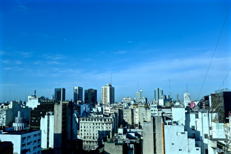 Sky View of Buenos Aires