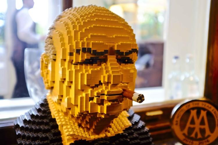 Lego Churchill