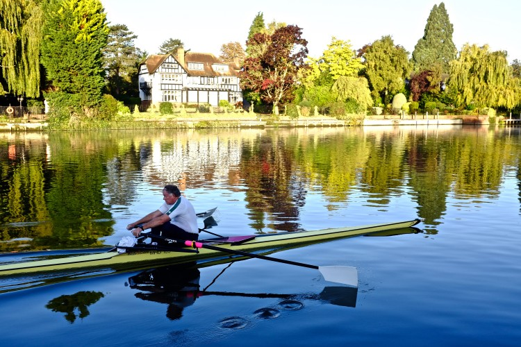 Rower on Thames