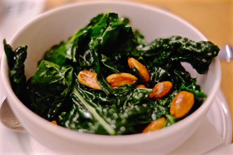 Kale & Pine Nuts